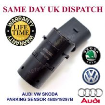 AUDI A4 A6 A8 VW SKODA FRONT AND REAR PDC PARKING SENSOR 4B0919275B